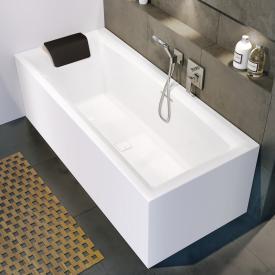 Riho Still Square Rechteck-Badewanne mit Verkleidung mit Füllfunktion