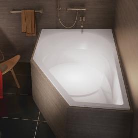 Riho Yukon Raumspar Badewanne, Ausführung rechts ohne Whirlsystem
