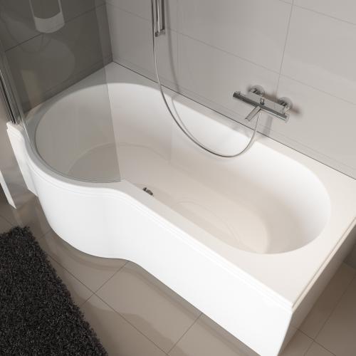 riho dorado wanne rechts mit duschzone links ba80005 reuter. Black Bedroom Furniture Sets. Home Design Ideas