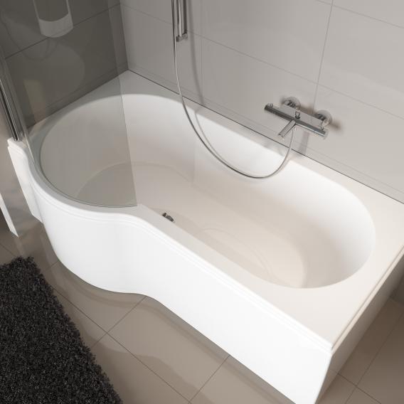 riho dorado wanne rechts mit duschzone links ba80005. Black Bedroom Furniture Sets. Home Design Ideas