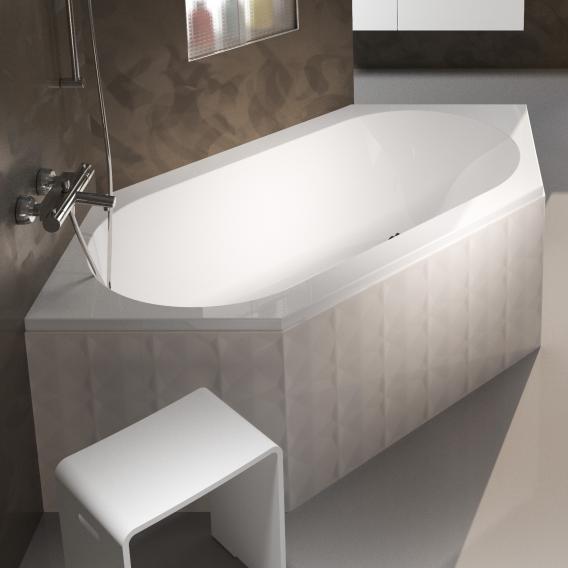 Riho Kansas Sechseck-Badewanne, Einbau