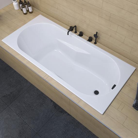 Riho Lazy Rechteck-Badewanne, Einbau