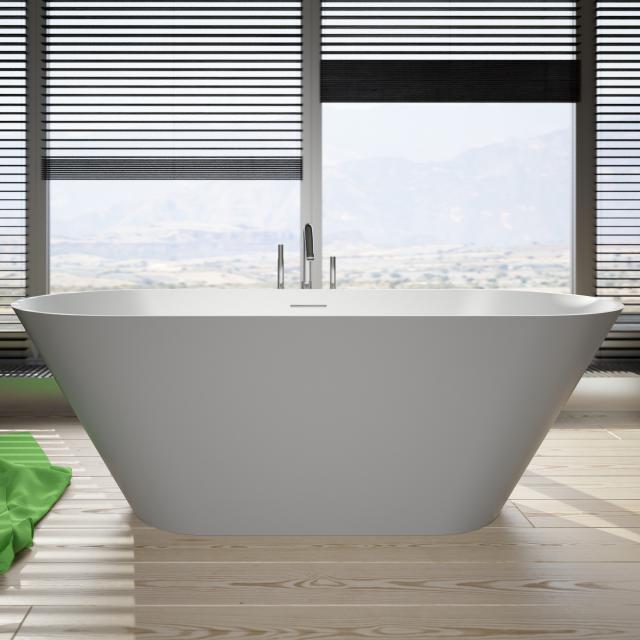 Riho Barcelona Freistehende Oval-Badewanne