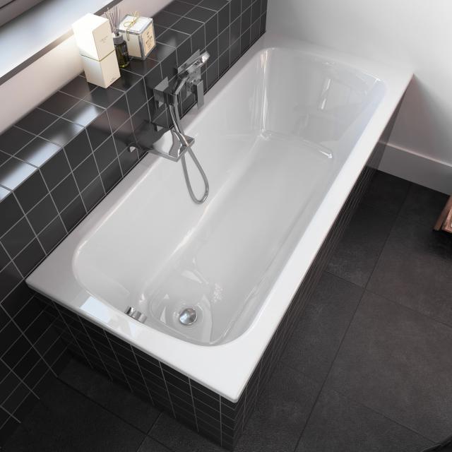 Riho Dola Rechteck-Badewanne, Einbau