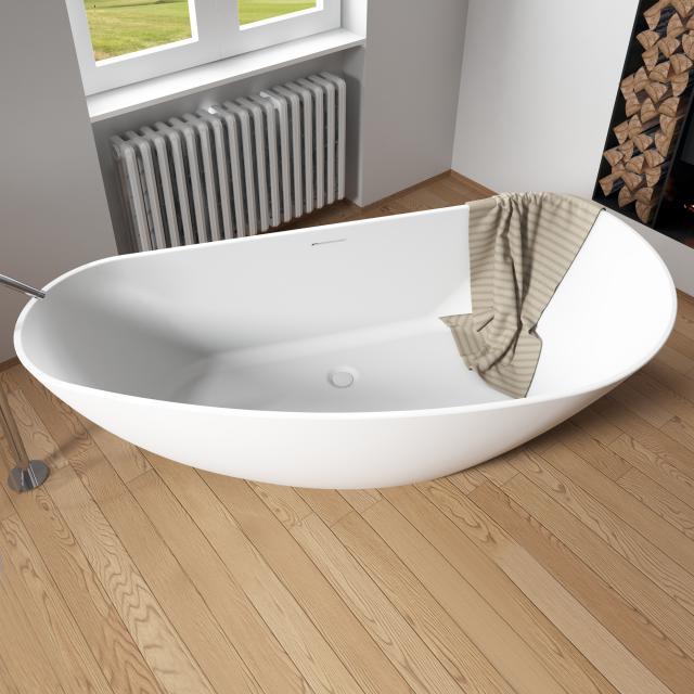Riho Granada Freistehende Oval-Badewanne