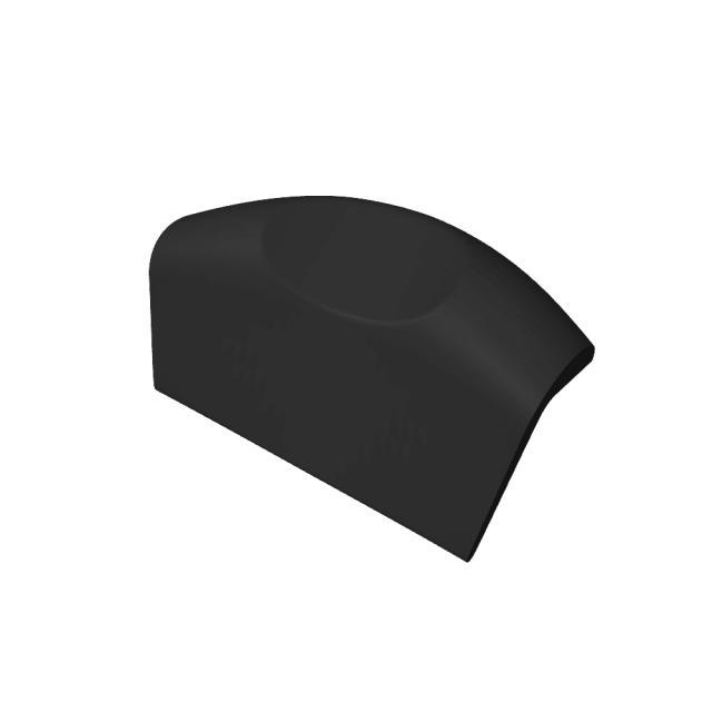 Riho Kopfstütze schwarz