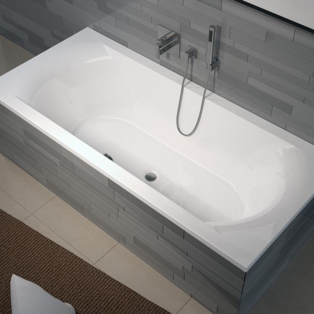 Riho Lima Rechteck-Badewanne, Einbau