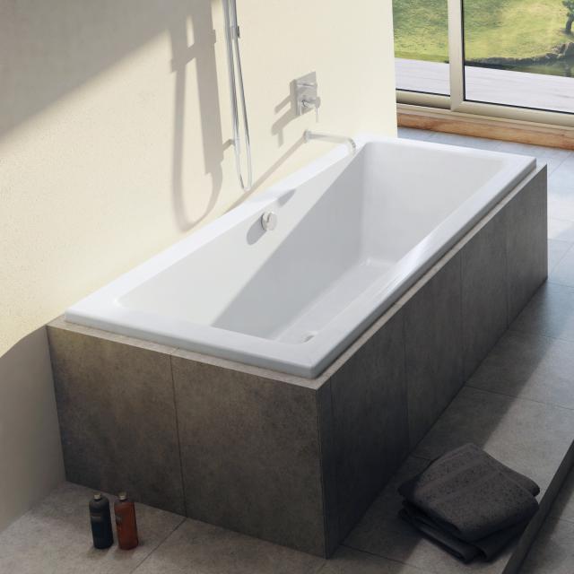Riho Lusso Rechteck-Badewanne, Einbau