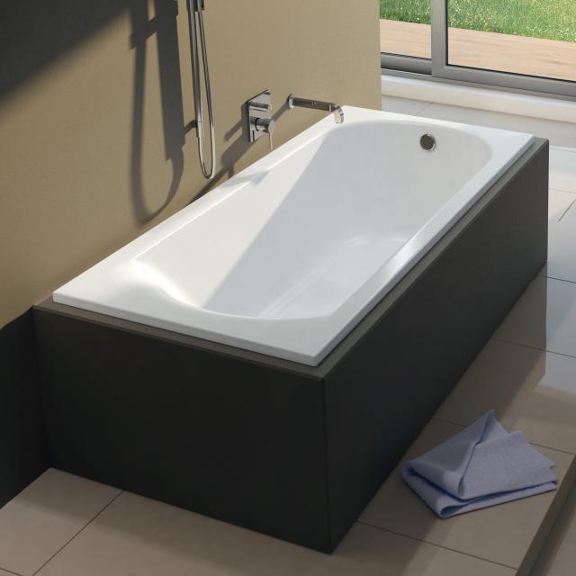 Riho Miami Rechteck-Badewanne, Einbau