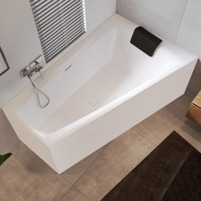 Riho Still Smart Eck-Badewanne mit Verkleidung mit Füllfunktion