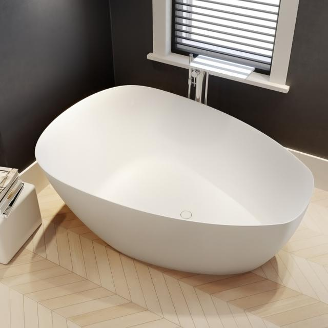 Riho Toledo Freistehende Oval-Badewanne