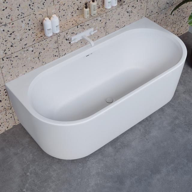 Riho Valor back2wall Vorwand-Badewanne mit Verkleidung