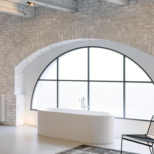 Riho Valor Freistehende Oval-Badewanne