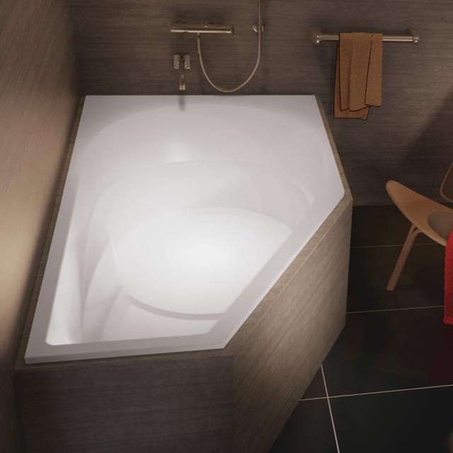 Riho Yukon Raumspar-Badewanne, Einbau
