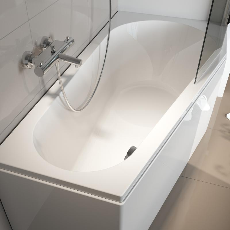 riho delta raumspar badewanne ausf hrung links ohne whirlsystem bb83005 reuter. Black Bedroom Furniture Sets. Home Design Ideas