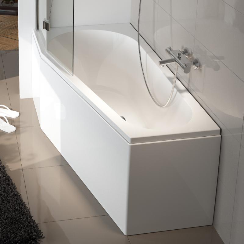 riho delta raumspar badewanne ausf hrung rechts ohne whirlsystem bb80005 reuter. Black Bedroom Furniture Sets. Home Design Ideas