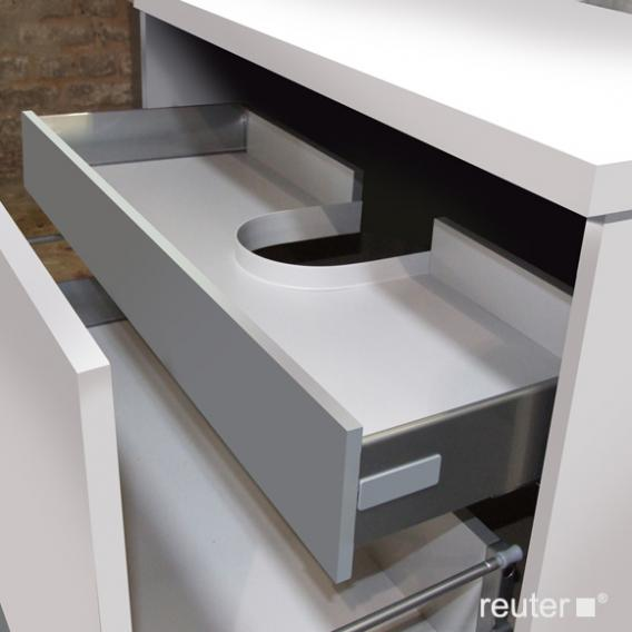 Reuter Kollektion System M01 Innenschubkasten mit Siphonausschnitt