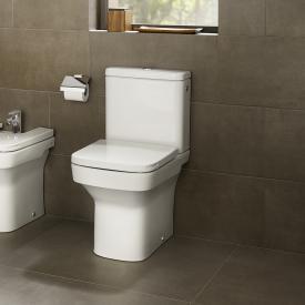 Roca Dama Stand-Tiefspül-WC-Kombination Kompakt SET, mit WC-Sitz