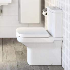 Roca Dama Stand-Tiefspül-WC-Kombination SET, mit WC-Sitz Abgang waagerecht