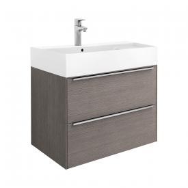 Roca Inspira Waschtisch mit Waschtischunterschrank mit 2 Auszügen Front city eiche / Korpus city eiche