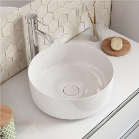 Roca Inspira Waschtisch-Schale round weiß, mit MaxiClean