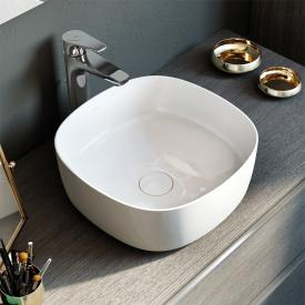 Roca Inspira Waschtisch-Schale soft weiß, mit MaxiClean