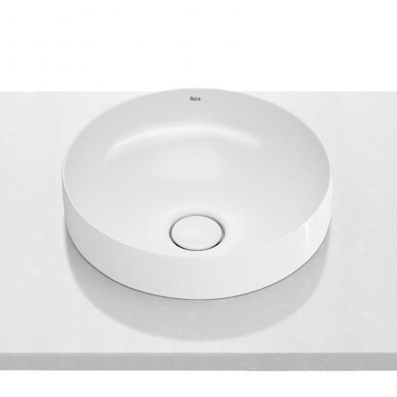 Roca Inspira Halbeinbau-Waschtischschale round weiß