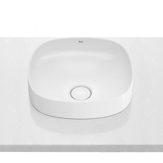 Roca Inspira Halbeinbau-Waschtischschale soft weiß