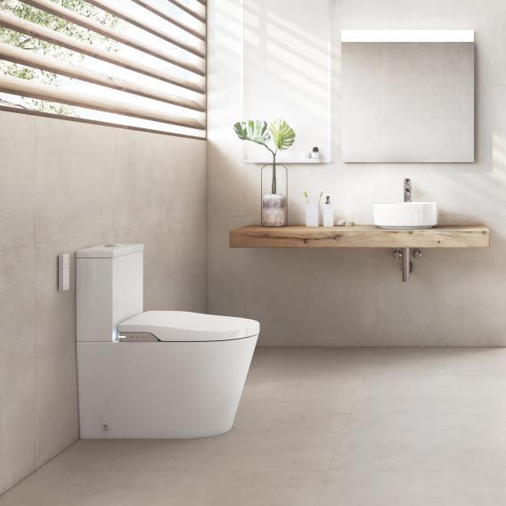 Roca Inspira In-Wash Stand-Dusch-WC-Kombination, Komplettanlage mit WC-Sitz