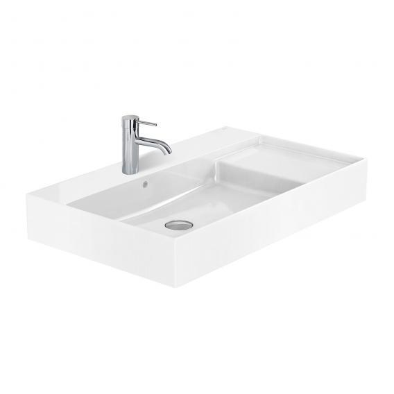 Roca Inspira Waschtisch mit Ablage rechts weiß, mit MaxiClean