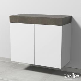Sanipa 2morrowLight Unterschrank für Konsole mit 2 Türen