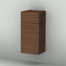 Sanipa 3way Mittelschrank mit 1 Tür und 1 Auszug Front kirsche natural touch/ Korpus kirsche natural touch mit Griffleiste