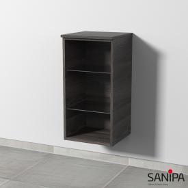 Sanipa 3way Regalmodul pinie schwarz