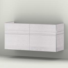 Sanipa 3way Waschtischunterschrank mit 4 Auszügen Front linde hell/ Korpus linde hell