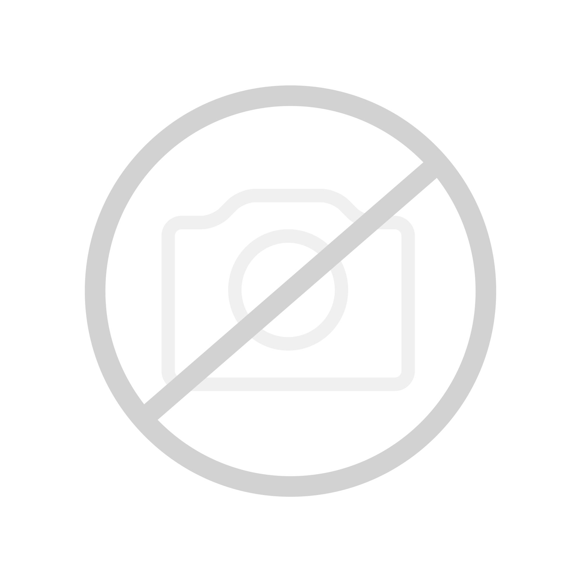 Sanipa 3way Waschtischunterschrank mit 4 Auszügen inkl. Glas-Waschtisch Front weiß soft/ Korpus weiß soft