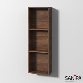 Sanipa Cubes Regalmodul mit 3 Fächern kirsche natural touch