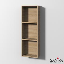 Sanipa Cubes Regalmodul mit 3 Fächern ulme impresso