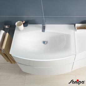 Sanipa CurveBay Glas-Waschtisch