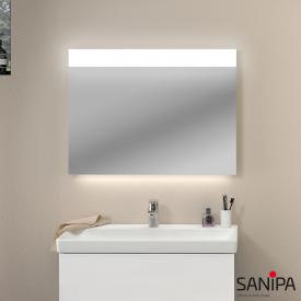 Sanipa Reflection Lichtspiegel LINUS mit LED-Beleuchtung mit Waschtischbeleuchtung