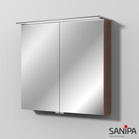 Sanipa Reflection Spiegelschrank MALTE mit LED-Beleuchtung kirsche natural touch