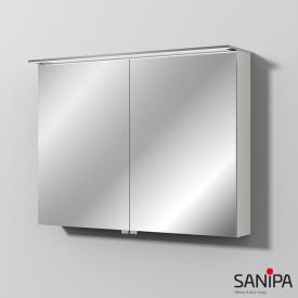 Sanipa Reflection Spiegelschrank mit LED-Beleuchtung weiß soft