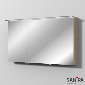 Sanipa Reflection Spiegelschrank mit LED-Beleuchtung ulme natural touch