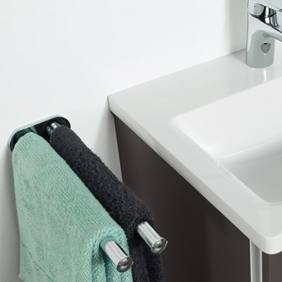 Sanipa Universal Doppelhandtuchhalter, ausziehbar