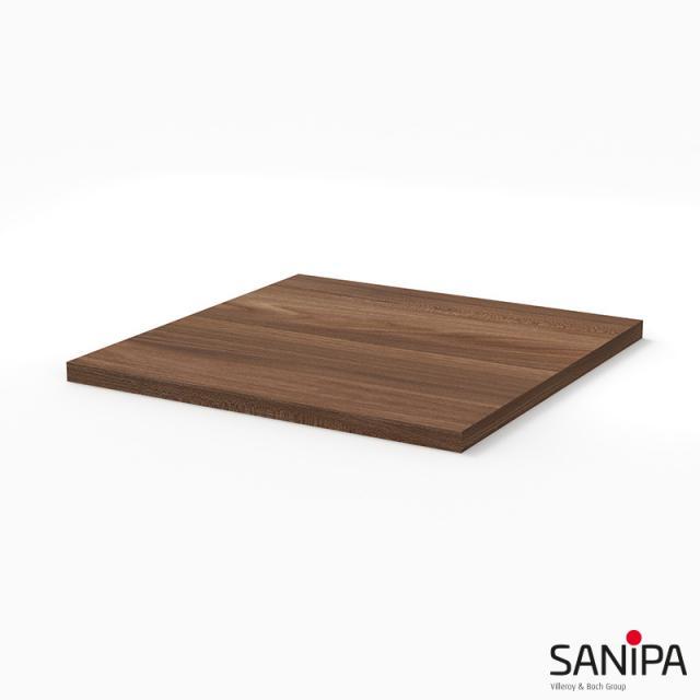 Sanipa 3way Abdeckplatte kirsche natural touch