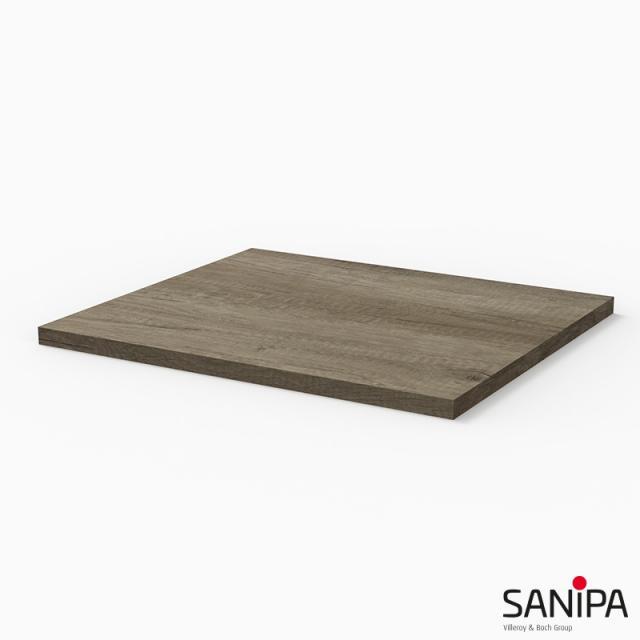 Sanipa 3way Abdeckplatte eiche nebraska