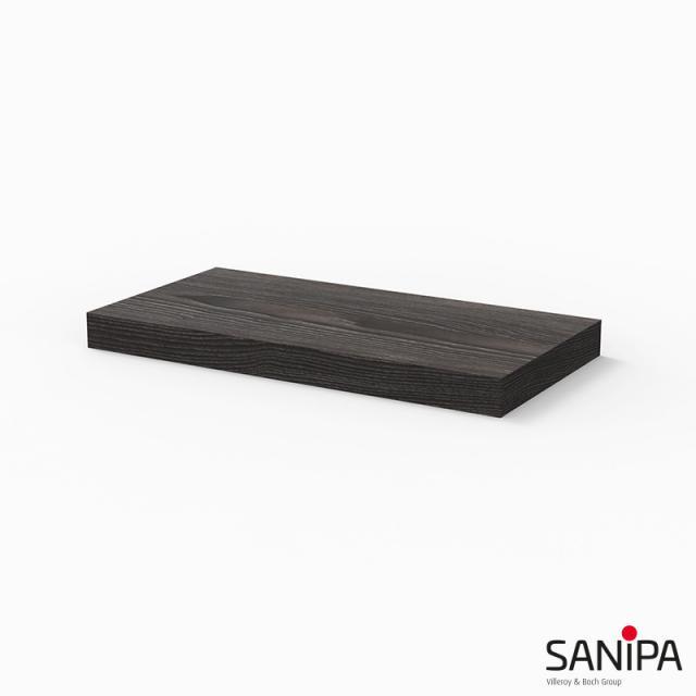 Sanipa Cubes Ablagekonsole pinie schwarz
