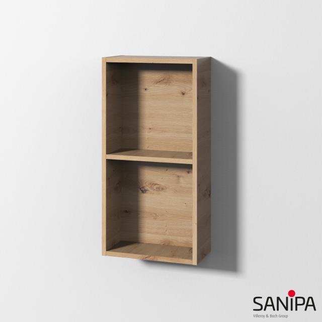 Sanipa Cubes Regalmodul mit 2 Fächern eiche natural touch