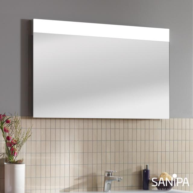 Sanipa Reflection Lichtspiegel LINUS mit LED-Beleuchtung ohne Waschtischbeleuchtung