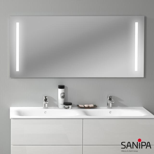 Sanipa Reflection Lichtspiegel LUCY mit LED-Beleuchtung neutralweiß
