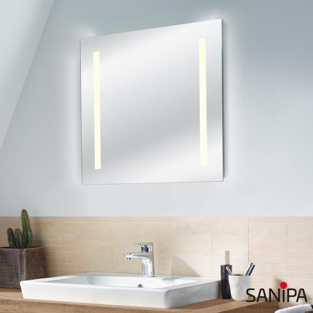 Sanipa Reflection Lichtspiegel LUCY mit LED-Beleuchtung warmweiß